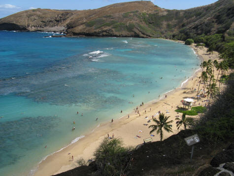 Geology of Hanauma Bay, Volcanic Crater on the Island of Oahu
