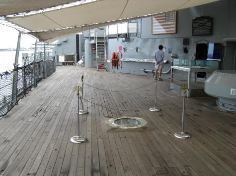 Location of the Signing of the Japanese Surrender on September 2, 1945