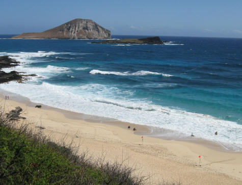 Top Beaches on the Island of Oahu