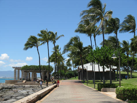 Parks and Gardens on the Island of Oahu, Hawaii