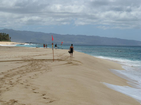 The Pipeline - Top Surfing Beach on the Island of Oahu
