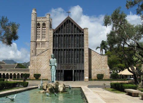 St. Andrew's Cathedral in Honolulu Hawaii