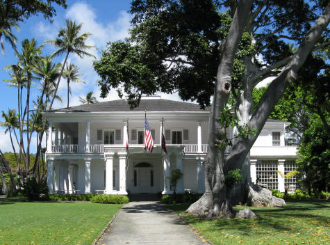 Washington Place in Honolulu Hawaii